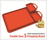 Double Save S Chopping Board