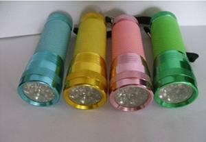 Wholesale gifts: Advertising Gifts LED Flashlight Household Flashlight