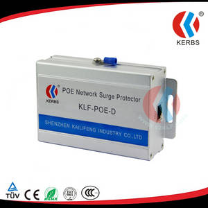 Wholesale poe switch: Apply To Wireless AP Network Camera and POE Switch of CAT6 Surge Protection