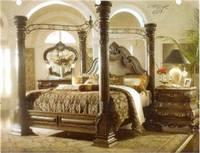 Bedroom Furniture Sets King on King Canopy Bedroom Set Leather Marbletop From Jaya Wood Furniture