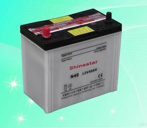 Wholesale Other Batteries: Sell N40 12V40AH Dry Charged Auto Battery