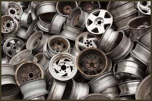 Wholesale wheel: Aluminium Alloy Wheels Scrap