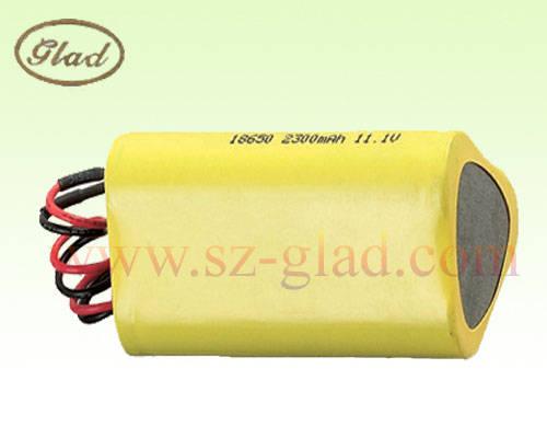 led light: Sell high power 18650 2300mAh with PCM 11.1V Li-ion battery pack for led light