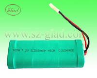 Sell SC 7.2v ni-mh 3000mAh battery pack emergency light battery