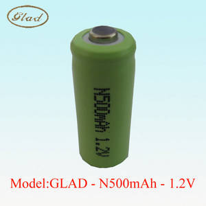 Wholesale medical machine: N Size Ni-mh Rechargeable Battery 1.2V 500mAh for Medical Machine