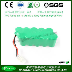 Wholesale battery packs: SC Size 12v 1800mah Ni-MH Battery, 14.4v Nimh Battery Pack for Vacuumer Cleaner