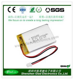Wholesale li ion: Lipo Li-ion Battery Power Bank 1000mah 7.4v 22.2v Li Polymer Battery 3.7v for GPS