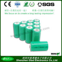 2000mAh AA Rechargeable Nimh Battery Pack 4.8v for Headlight