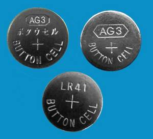 Wholesale button cell: 1.5v Alkaline Button Cell AG3 LR41