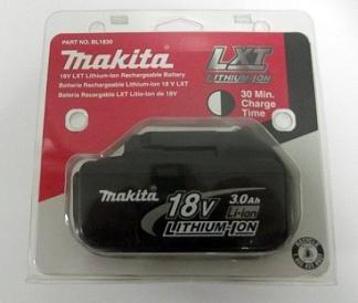 makita bl1830 18v 18 volt lxt lithium ion battery makita