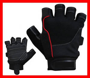 Wholesale Weight Lifting: Men's Gel Padded Weight Lifting Gloves