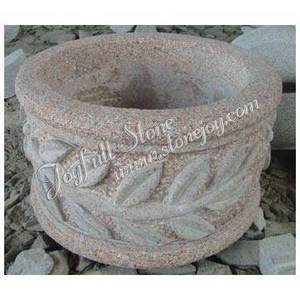Wholesale Stone Carving and Sculpture: Granite Planters