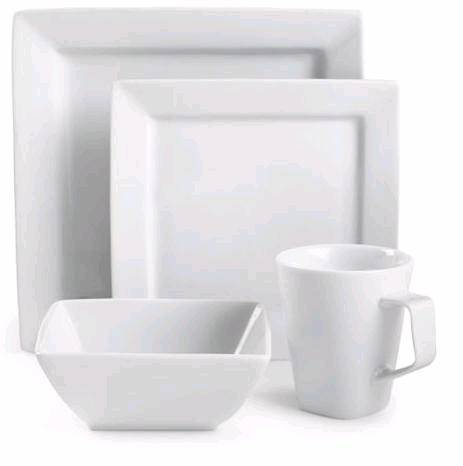 Porcelain Square Dinner Set New Bone China Mug From Hunan