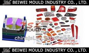 Wholesale plastic injection mould: High Polishing Plastic Automotive Tail Lamp Injection Mould