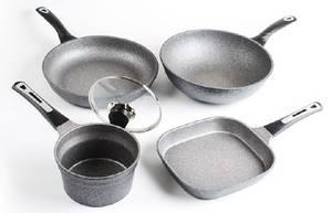 Wholesale Cookware Sets: Fry Pan Wok Pot Cookware INFINI STONE