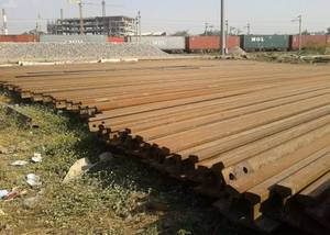 Wholesale crane rail: 90 Lbs or 90 R or 90 Pound Used Rail,  90 Lbs or 90 R or 90 Pound Crane Rail