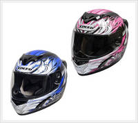 Street Full Face Helmet (XP509, Motorcycle Helmet)