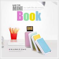 Mini Book Slide USB Memory