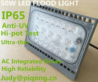 Sell 50W AC Linear led Floodlights integrated driver with high reliability
