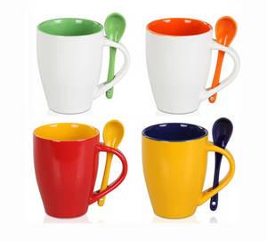 Wholesale ceramic mug: Color Glazed Ceramic Mug