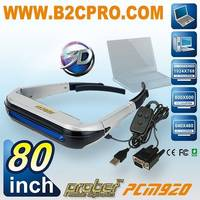 80 Inch Video Glasses/Eyewear Monitor /3D Video Glasses