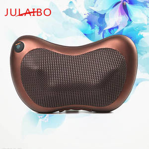 Wholesale neck cushion: Electrical Massager Pillow Rotate Kneading Shiatsu Heating Home & Car Use