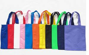 Wholesale non woven bag: Handle Non Woven Shopping Bag Promotion Tote Bag