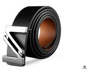 Wholesale fashion belt: Fashion Smooth Buckle Leather Belt Wholesale