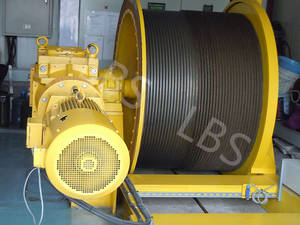 Wholesale Cranes: Electric Lifting Winch with Spooling Device