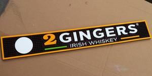 Wholesale soft pvc strip: Wholesale Strip PVC Soft Rubber Bar Mat the 3 D Logo Can Be Customized
