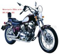 Motorcycle 250cc with DOT, EPA ,EEC