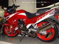 Motorcycle 150cc with DOT, EPA ,EEC
