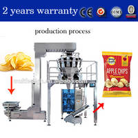 Potato Chips Pillow Bag Making Machine(With Multihead Weigher)