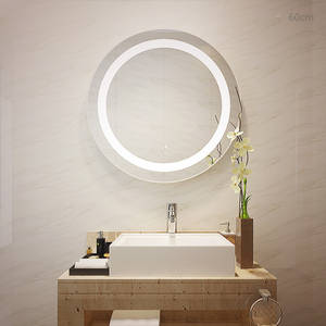 Wholesale led light makeup mirror: Bathroom LED Magnifying Mirror with Lights