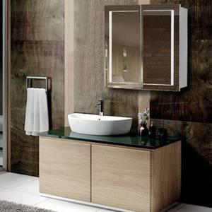 Wholesale mirror cabinet: China Wholesale LED Bathroom Mirror Cabinet