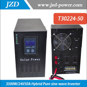 Wholesale solar controller: 3000W/24V50A Solar Hybrid Inverter 3000W Inverter Built in 24V50A Solar Charger Controller with 220V
