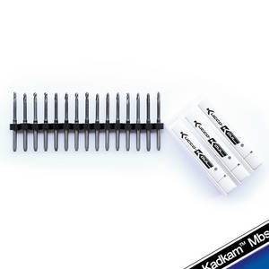 Wholesale dental zirconia materials: Kadkam Mbs Dental CAD/CAM Milling Burs CNC End Mills Cutters