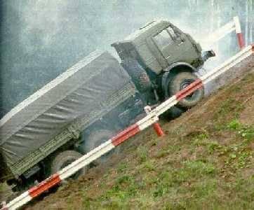 KAMAZ 43101 (6x6) cargo truck