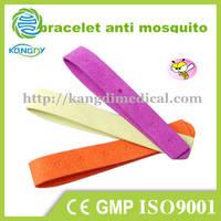 Kangdi Natural Citronella Anti Mosquito Repellent Microfiber Bracelet