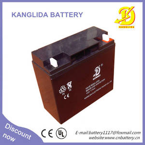 Wholesale the battery: The High Power 12v17ah Sealed Lead Acid Battery Container