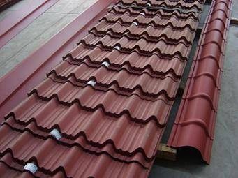 Color Coated Roof Tile Hangzhou Jiabao Steel Structure