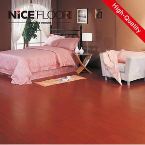 Wholesale hdf flooring: 8mm 12mm Hdf AC3 CLASS31 High Gloss Laminate Flooring