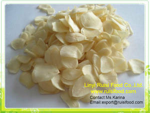 Wholesale Dried Vegetables: Dehydrated Garlic Flake