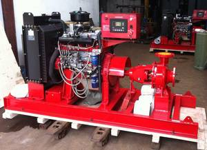 Wholesale fire pump: Diesel Engine Centrifugal Fire Water Pump