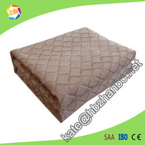 Wholesale bed blanket: knitting Bed Cover Electric Blanket