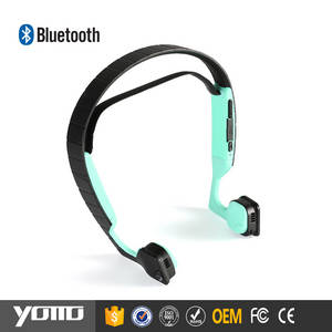Wholesale Telephone Accessories: YOMMO 2017 New Bone Conduction Headphone Sports Wireless Bluetooth Headset
