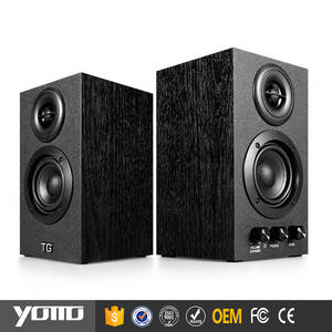 Wholesale mobile phone: YOMMO 2016 Wood Mobile Phone & Laptop Lined in 2.0 Multimedia Speaker System Home Theater Bookshelf