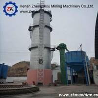 Professional Manufacture Vertical Lime Kiln Calcining for 100t- 500 T