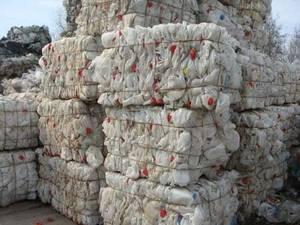 Wholesale hdpe milk bottle scrap: HDPE Milk Bottle Scraps