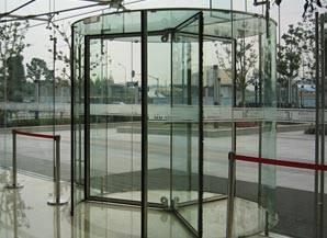 Wholesale glass door: All Glass Revolving Door